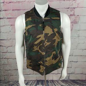 CAMO VEST Men's Reversible Vest